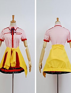 inspirerad av futsuu ingen joshikousei ga yukari kohinata cosplay dräkter