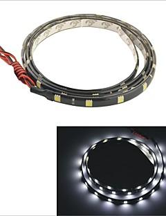 carking ™ 5050-36smd-90cm 방수 자동차 장식 램프 스트립 블랙