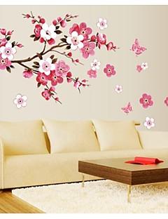 flor jiubai® la pared del árbol etiqueta de la pared calcomanía