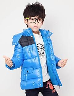 ג'וקר האופנה של ילד עם מעיל חם עיבוי ברדס