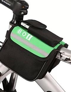 Bolsa de Bicicleta 8LBolsa para Quadro de Bicicleta Á Prova-de-Água / Lista Reflectora Bolsa de Bicicleta Poliéster Bolsa de Ciclismo