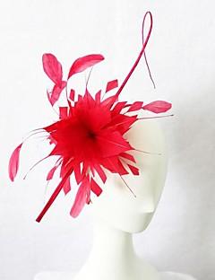 Women's Leather Headpiece-Wedding Special Occasion Headbands