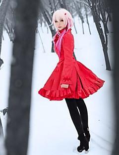 Guilty Crown Inori Yuzuriha Red Dress Christmas Costume