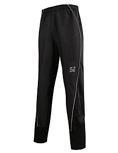 OUTTO® Cycling Pants Men's Waterproof / Thermal / Warm / Quick Dry / Windproof / Rain-Proof / 3D Pad / Reflective Strips / Back Pocket
