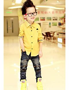 Jednolity kolor Hat Drukuj rękawem długim chłopca