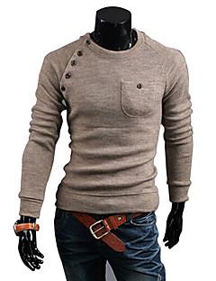 Glorie Ronde Kraag met lange mouwen Truien Shirt