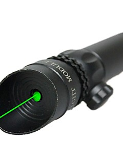 LT-10081 Green Laser Pointer (2MW,532nm,1x16340,Black)