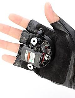 LT-8885 Double Swirl   Purple Swirl Laser Gloves(4mw.405nm.Built-in Li-ion Rechargeable Battery.Black)