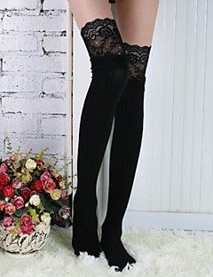 Women's Lace Cotton Stockings