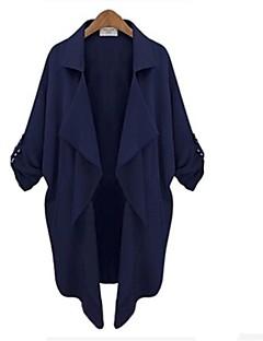 ssmn Frauenfrei mittleren langen Mantel