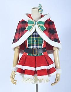 Love Live! idole de l'école carte festival de sr Hanayo cosplay koizumi costume noël