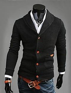 miesten vapaa-ajan muoti neuloa neuletakki