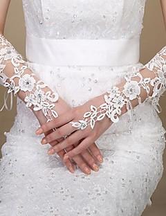 Håndledslængde Handske Brudehandsker