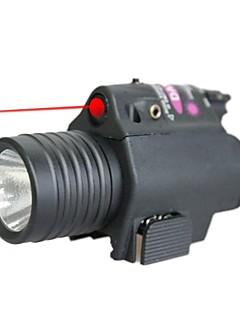 LT-LED Flashlight Red Laser Pointer  (4MW,650nm,1x16340,Black)