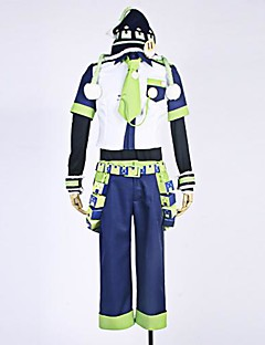 Inspired by Dramatical Murder Noiz Anime Cosplay Costumes Cosplay Suits PatchworkShirt Pants Sleeves Waist Accessory Belt Hat Tie Badge