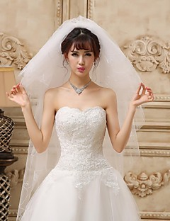 Six-tier Chapel Wedding Veil