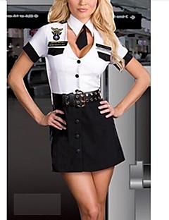 verführerischen Piloten Fliegeruniform erwachsenen Frauen Kostüm eine Größe