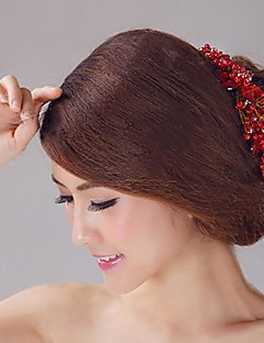 Dame/Blomsterpige Krystall Headpiece Bryllup Diademer Bryllup