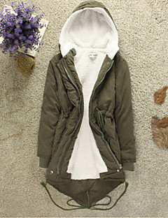 Women's Fashion Hooded Fleece Lining Thicken Outerwear More Colors