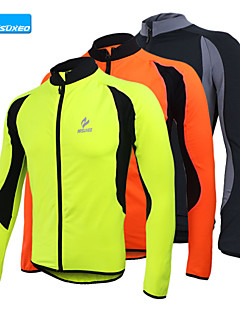 arsuxeo mannen fleece wielertrui warme winter thermische fiets fiets outdoor sportieve jas