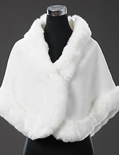 pele envolve grandes casamentos do inverno borda de pele de espessura faux fur bolero envoltório xale de noiva bolero encolher de ombros