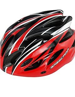 basecamp® bc-012 18 aberturas de qualidade ultralight integralmente moldado inseto ajustável prevenção net ciclismo capacete vermelho + preto