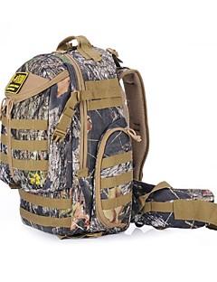 jungleman® extérieur sac à dos épaule double de camouflage tactique (25l)