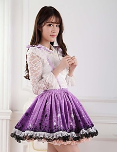 Purple Pretty Lolita Dandelion Princess Kawaii Skirt Lovely  Cosplay