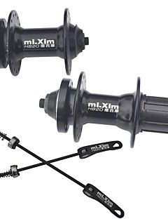 Mixim Mountain Bike 32 Holes Disc Brake Cycling Bead Hub HB20 with Quick-release