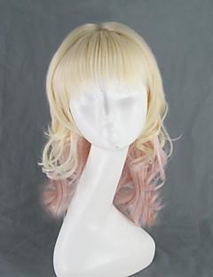 Diabolik Lovers Yui Komori Light Golden Curly Cosplay Wig