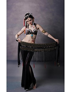 Belly Dance Stage Performance Tribal Style Tassel Coppers Waist Chain/Shawls(More Colors)