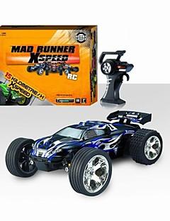 01:22 veículo escala de 4 canais carro de controle remoto para as crianças 15 kmh-18 kmh de alta velocidade do carro rc