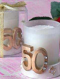 Garten Thema Candle Favors-4 Stück / Set Kerzen Nicht-individualisiert Weiß
