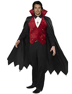 The Blood Sucking Vampire Adult Men's Halloween Costume(Suitable for 168-180cm Men)