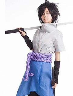 naruto 4a generazione cotone Sasuke Uchiha&terylene costume cosplay