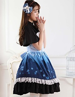 Blue Sweet  Lolita Princess Princess Star Castle Dress  Lovely Cosplay