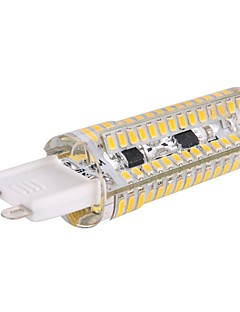 G9 5 W 120 SMD 3014 600 LM Warm White Dimmable Corn Bulbs AC 220-240 V