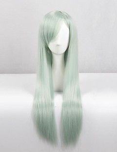 Cosplay Wigs The Seven Deadly Sins Elizabeth Green Long Anime Cosplay Wigs 80 CM Heat Resistant Fiber Female