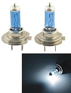 נורות ™ 1100lm 5000K 100W H7 carking אולטרה חמות לבנה פנס הלוגן (12V / זוג)