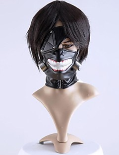 Mask Inspired by Tokyo Ghoul Cosplay Anime Cosplay Accessories Mask Black Chiffon Male / Female