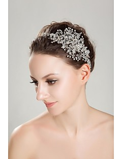 Women's Rhinestone Crystal Headpiece-Wedding Special Occasion Outdoor Headbands