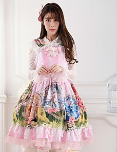 Pink  Sweet  Lolita Princess Constellation Goddess Princess  Dress  Lovely Cosplay