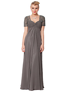 Dress - As Picture Sheath/Column Queen Anne Floor-length