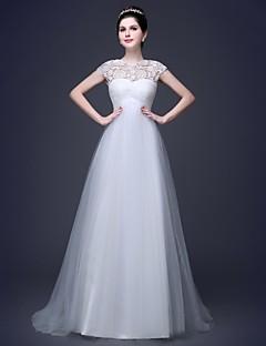 웨딩 드레스 A 라인 바닥 길이 스윗하트