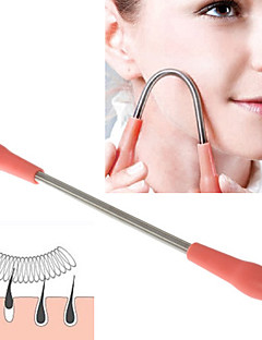 1PCS Facial Hair Remover Face Body Hair Remover Spring Epilator Epistick For Women(19cm)