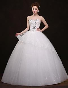 Magnifique robe bustier brodé de starss avec un volant de dentelle robe princesse
