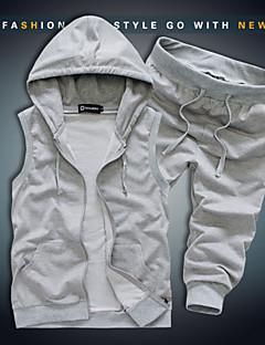 Men's Sleeveless Cotton Blend Pure