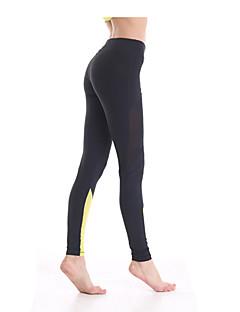Tights (Vit/Svart) - Dam - Yoga/Pilates/Fitness - Andningsfunktion/Snabb tork/wicking