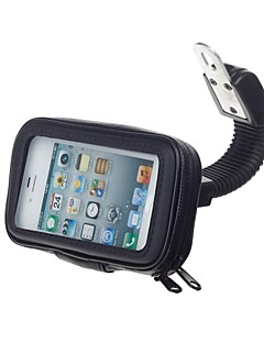 בעל עמיד אופניים מים אופנוע m08 / עומד לgps / טלפון נייד (שחור)