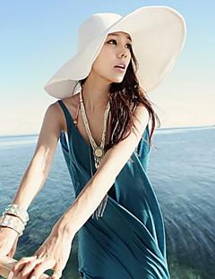 여성 - Cute/캐주얼 - 플로피 햇 (밀짚